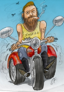 'ASHTRAY ON A MOTOR BIKE' - The very unfinished Autobiography by Charles A. Foskett