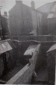 'Gloomy Victorian back yards and lanes'